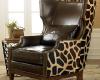 Żyrafiasty fotel