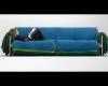 sofa z palet materiałów