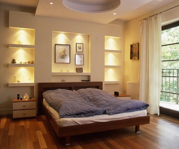 Sypialnia z wnękami
