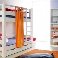 Łóżka piętrowe dla dorosłych i dla dzieci - oszczędzacze miejsca