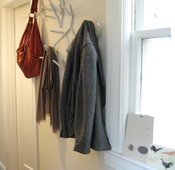 Wieszak na ubrania do przedpokoju