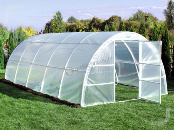 Tunel ogrodniczy - namiot foliowy na warzywa