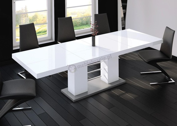 Stół do jadalni biały