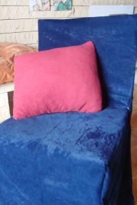 Pokrowiec na krześle.
