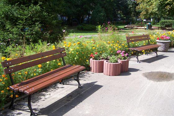 Ławka ogrodowa żeliwna