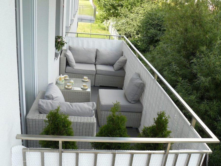 Meble balkonowe Ligurito Off-White