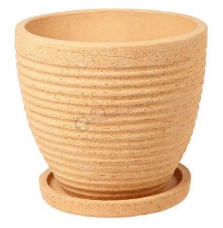 Ceramiczna doniczka na balkon
