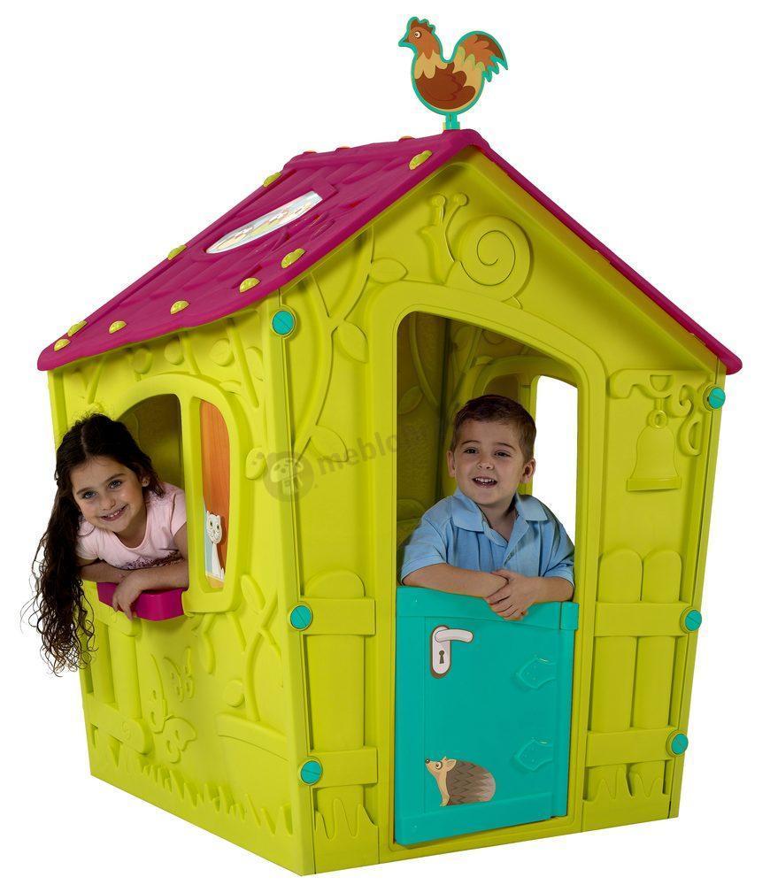 Domek ogrodowy dla dzieci z tworzywa sztucznego