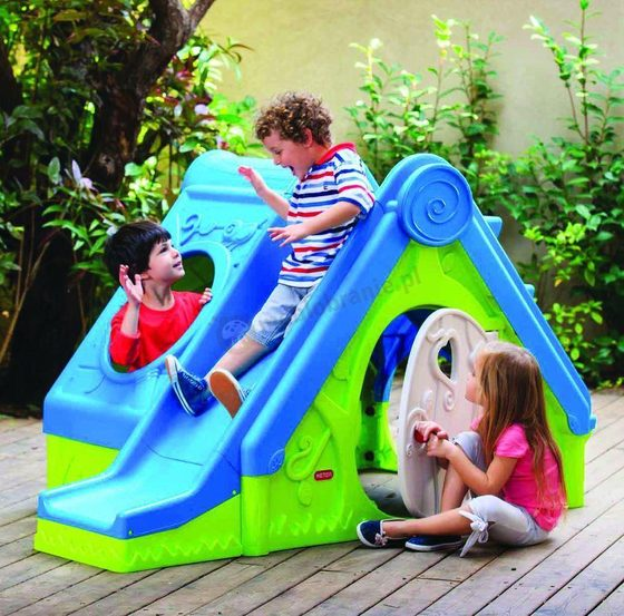 Domek plastikowy dla dzieci do ogrodu