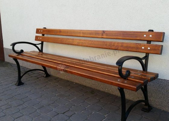 Ławka parkowa - wymiar 180cm