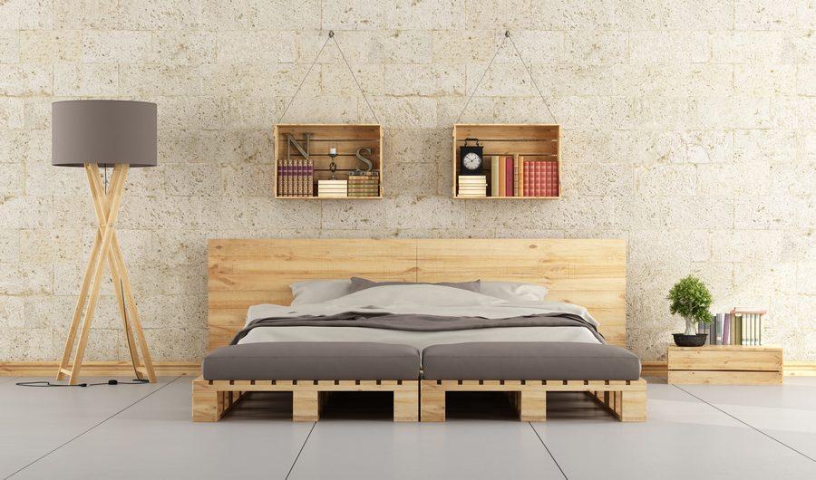 Oryginalne łóżko do sypialni