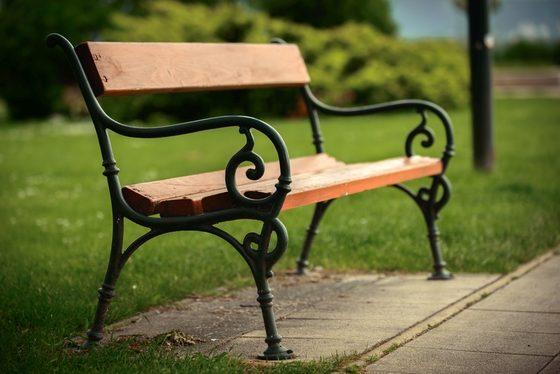 Stelaż do ławki ogrodowej