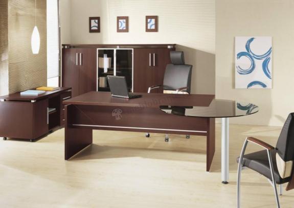 Biurko dla prezesa - zestaw gabinetowy W-BOX