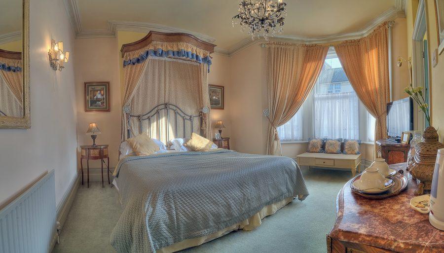 Luksusowe łóżko