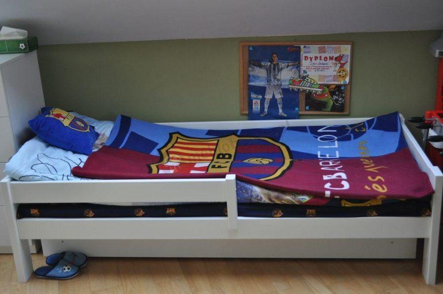 Sportowe łóżko dla chłopca