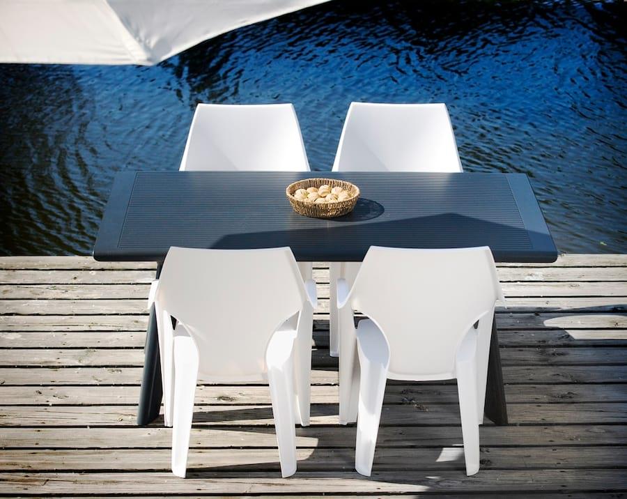 Nowoczesne Meble Ogrodowe Plastikowe : Krzesła Dante High Back to model wyglądający, jak zaprojektowany