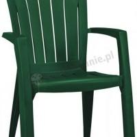 Szmaragdowozielone krzesło Santorini Curver