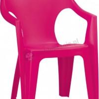 Różowe krzesełko Dante Low Back