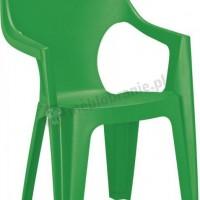 Jasnozielone krzesło Dante High Back