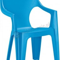 Krzesło Dante High Back jasnoniebieskie