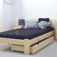 Łóżko jednoosobowe z szufladą Saranda