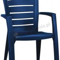 Niebieskie krzesło Larisa Keter