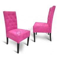 Krzesło pikowane proste