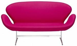 Sofa inspirowana projektem Swan