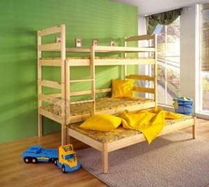 Łóżko 3-osobowe Damian