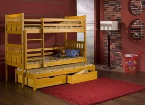 Łóżko 3-osobowe Maksymilian