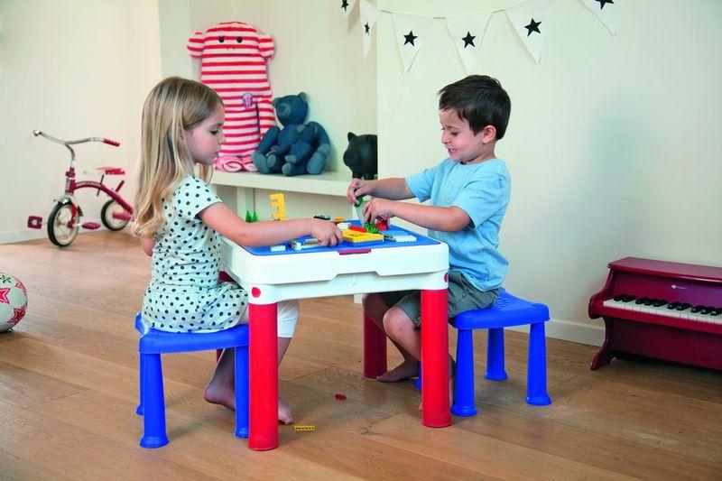 ConstrucTable Keter - Stolik na klocki dla dzieci