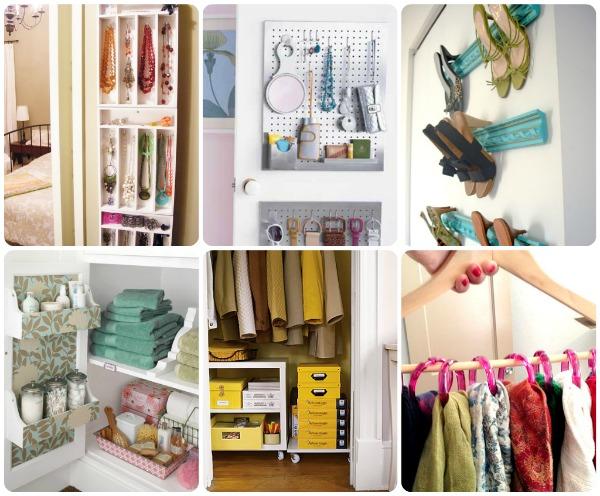 10 pomysłów na lepszą organizację szafy