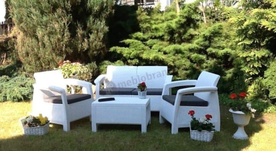 Corfu Set Biały