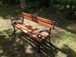 Ławka parkowa - 150cm - 45kg