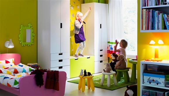 Przestrzeń do zabawy we wspólnym pokoju, źródło: rossmann.pl