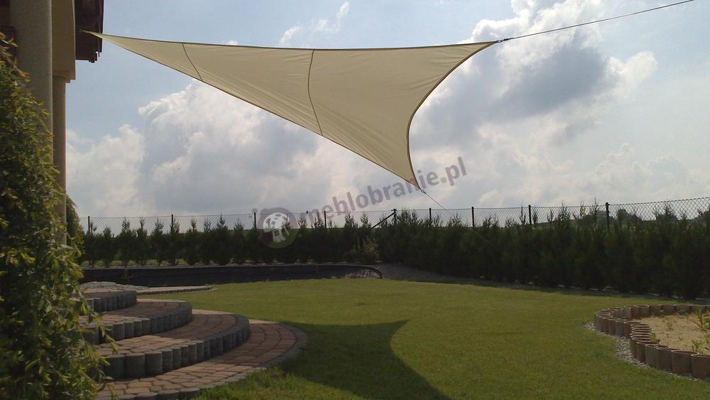 Zacieniacz przeciwsłoneczny trójkątny 5m