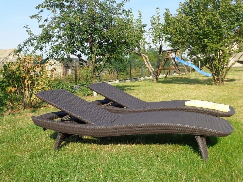 Keter Pacific leżak ogrodowy brązowy