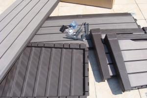 Skrzynia ogrodowa Keter Brushwood Storage Box 455L części
