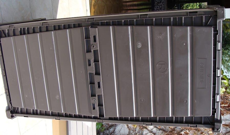 Skrzynia ogrodowa Keter Brushwood Storage Box 455L gotowe dno