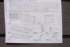 Montaż skrzyni Keter Brushwood Storage Box 455L instrukcja