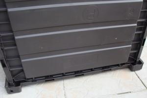 Skrzynia ogrodowa Keter Brushwood Storage Box 455L mocowanie dna1