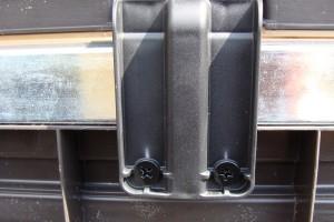 Skrzynia ogrodowa Keter Brushwood Storage Box 455L wieko przykręcone