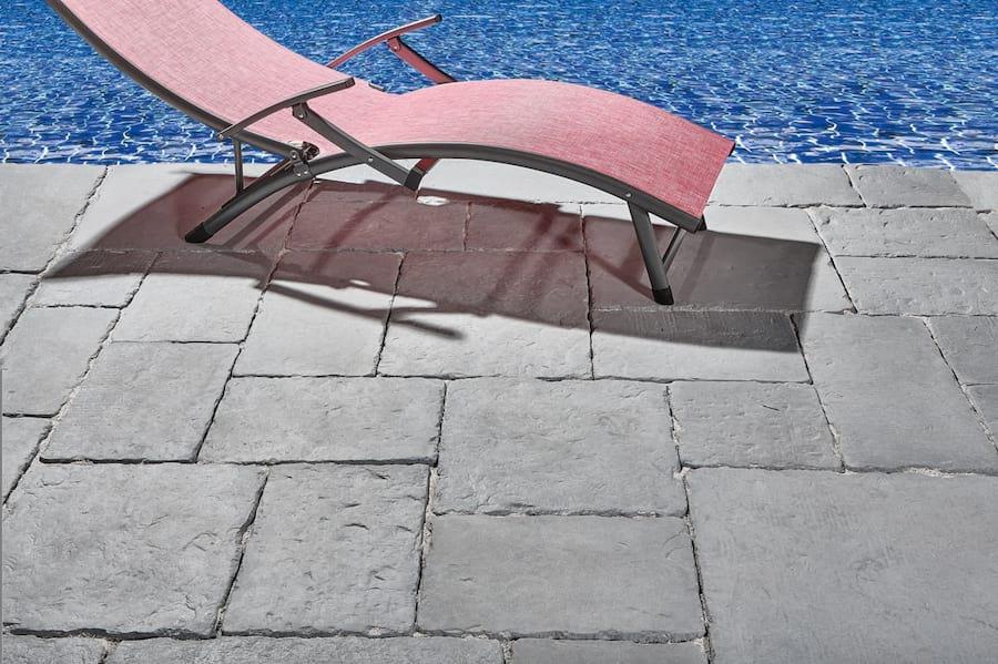 Leżak ogrodowy aluminiowy Relax fuksja