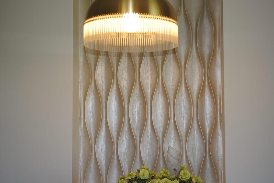 Panel wykończony farbą perłową