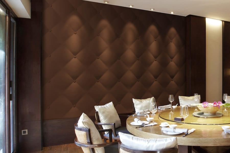 Ściana ozdobiona panelem pad VIA panels