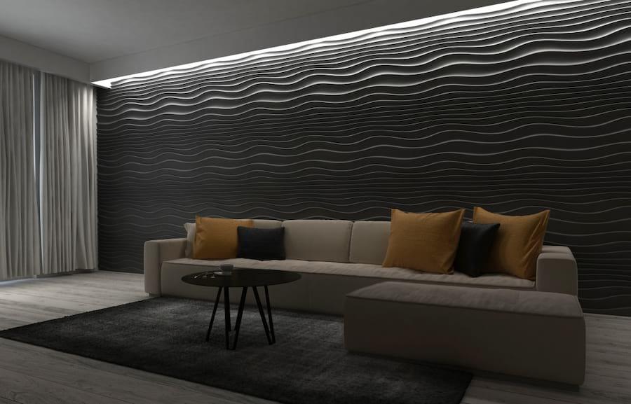 Wnętrze wykończone panelami ZD design