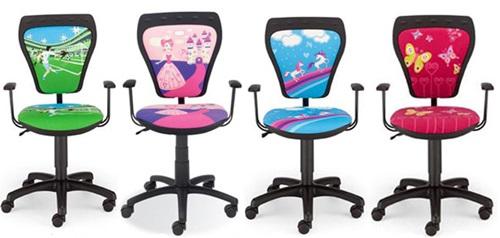 Kolekcja krzeseł dziecięcych Cartoon Line