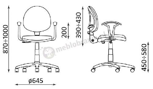 Krzesło obrotowe Smart