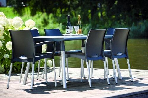 Stoły Ogrodowe Plastikowe Allegro : Zestawy ogrodowe plastikowe – stoły i krzesła  Porady Meblobranie [R