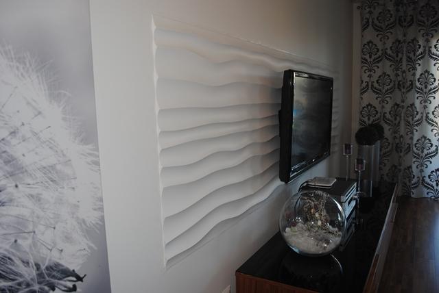 Wnętrze wykończone panelami Dunes